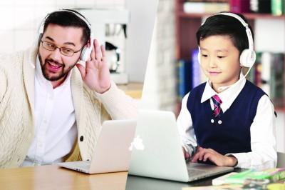 网上小学生一对一英语是怎样的?孩子上网学英语有用吗?